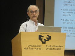 Luis Gardezabal, co-founder of Egokituz, retires after 38 years of work in the UPV/EHU