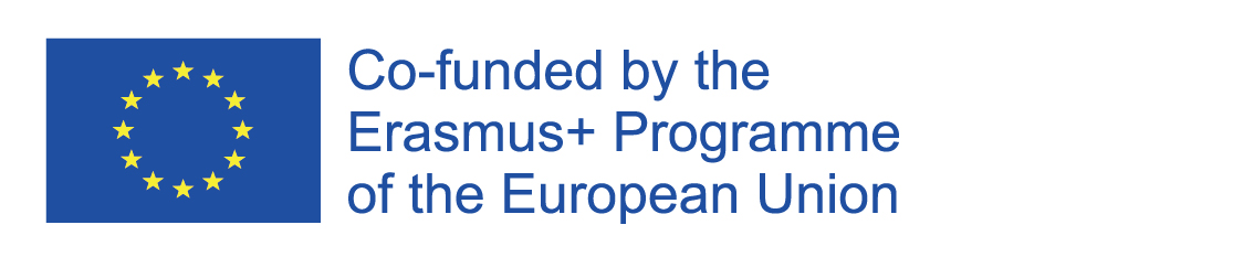 Logo expressing that this project is co-funded by the Erasmus+ Programme of the European Union.